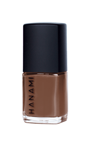 'Pony' Light Brown Nail Polish (15ml) by Hanami Cosmetics