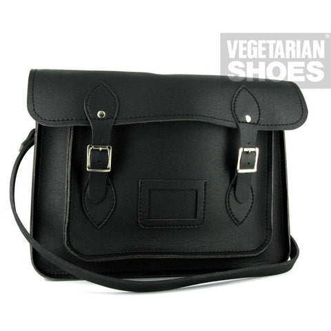 Vegetarian Shoes - Satchel (Black) - Vegan Style