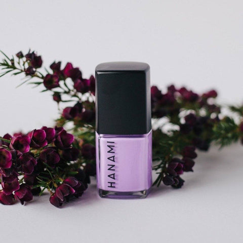 'Purple Rain' Nail Polish (15ml) by Hanami Cosmetics