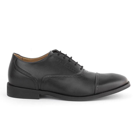 'Arthur' Men's classic shoe  by Ahimsa - black