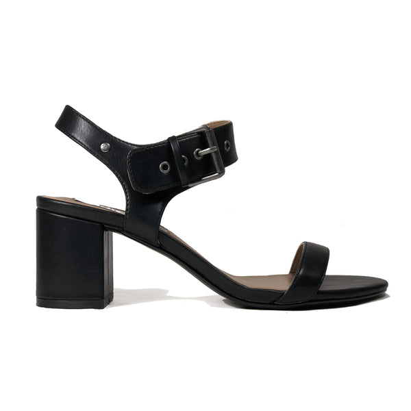 'Elysa' women's vegan sandal by Matt and Nat - black - Vegan Style