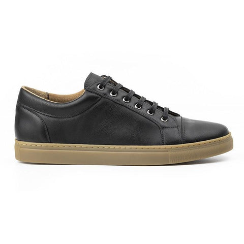 Men's Vegan Sneakers (Black) by Ahimsa