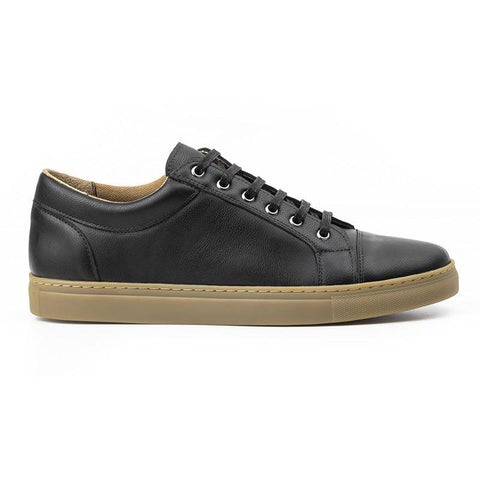 Women's Vegan Sneakers (Black) by Ahimsa - Vegan Style