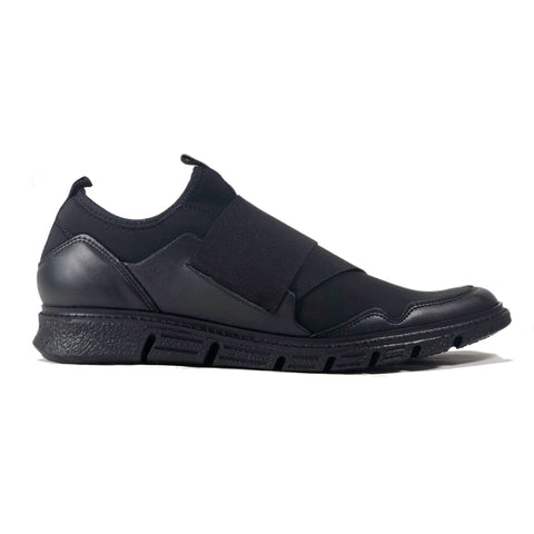 'Caspar' - men's vegan sneaker by Zette Shoes - black - Vegan Style