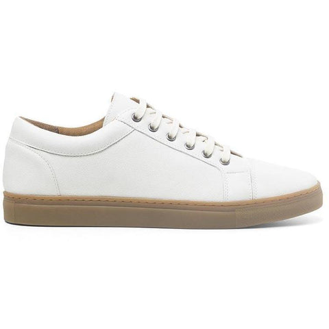 Ahimsa Men's vegan sneakers - ivory