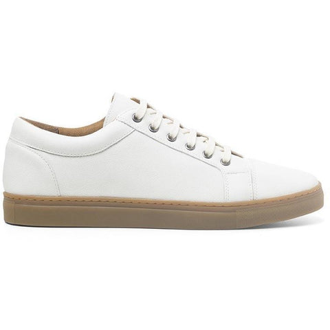 Women's Vegan Sneakers (Ivory) by Ahimsa - Vegan Style