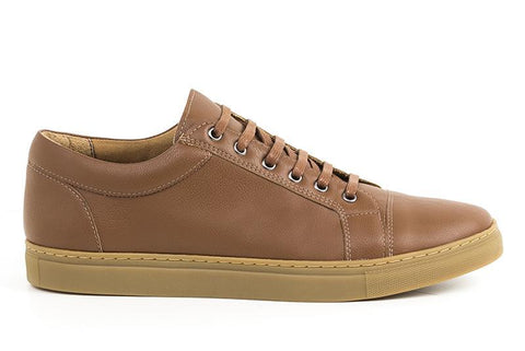 Men's Vegan Sneakers (Brown) by Ahimsa