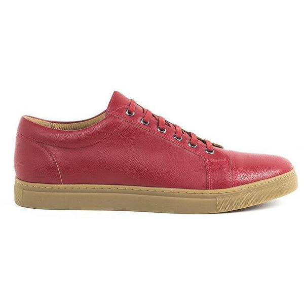 Women's Vegan Sneakers (Red) by Ahimsa