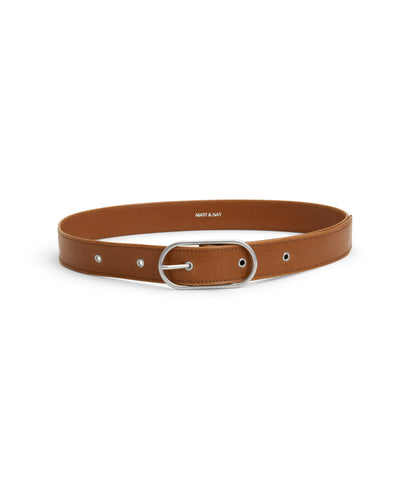 'Neil' vegan women's vegan-leather belt by Matt and Nat - chilli - Vegan Style