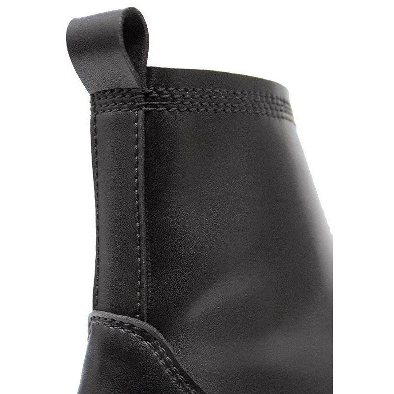 Will's London - slim-sole dress boots (black) - Vegan Style