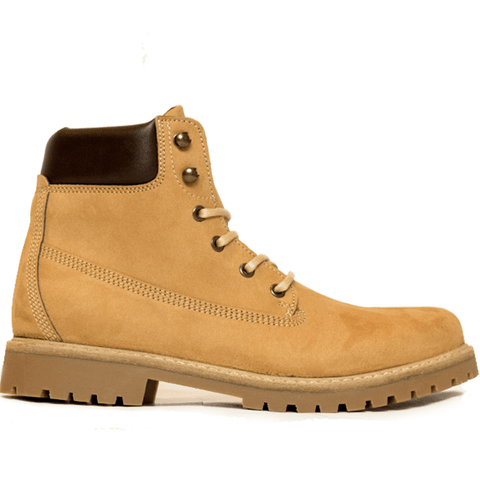 Will's Vegan Shoes - Men's Dock Boots (Tan) - Vegan Style