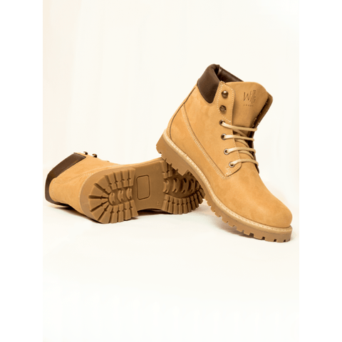 Will's Vegan Shoes - Women's Dock Boots (Tan) - Vegan Style