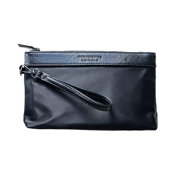 Limited edition Traveller Clutch by Tokyo Bags - black - Vegan Style