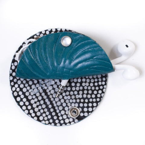 Headphone Taco in Vegan Leather by Crystalyn Kae