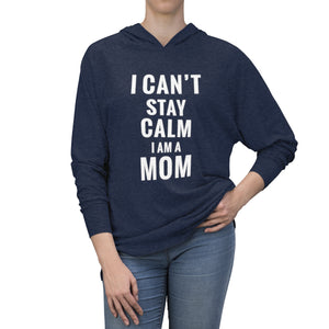 I Cant Stay Calm Tri-Blend Hoodie