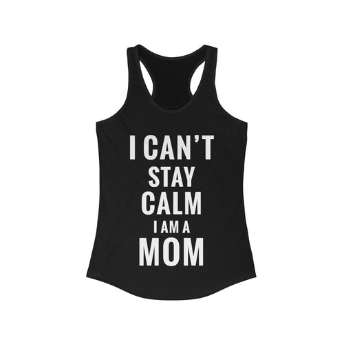 Stay Calm Racerback Tank