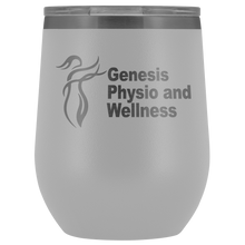 Load image into Gallery viewer, Genesis Physio and Wellness Wine Tumbler