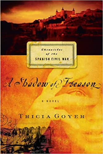 A Shadow of Treason (Chronicles of the Spanish Civil War, Book 2)