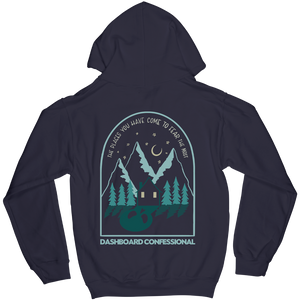 """The Places You Have Come To Fear The Most"" Hoodie"