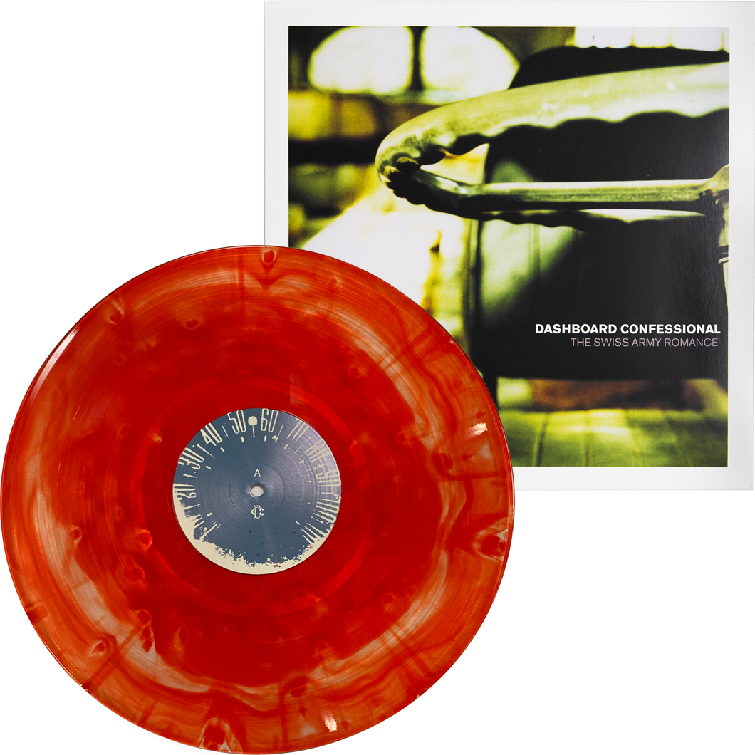 The Swiss Army Romance - Orange & Clear Vinyl