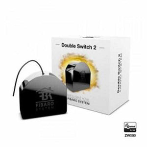 Fibaro double switch 2 - Dvojni relejski modul - Inteligent SHOP