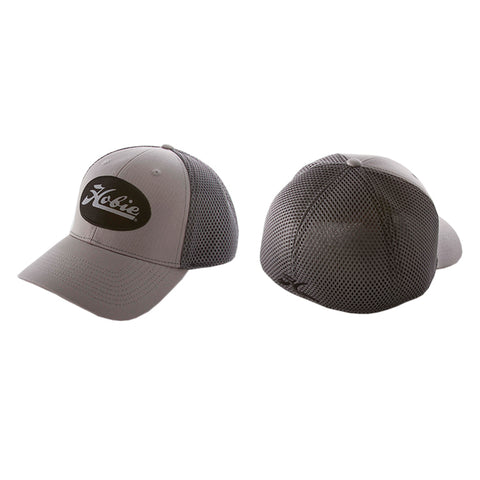 HAT, HOBIE PATCH GRAY/BLACK