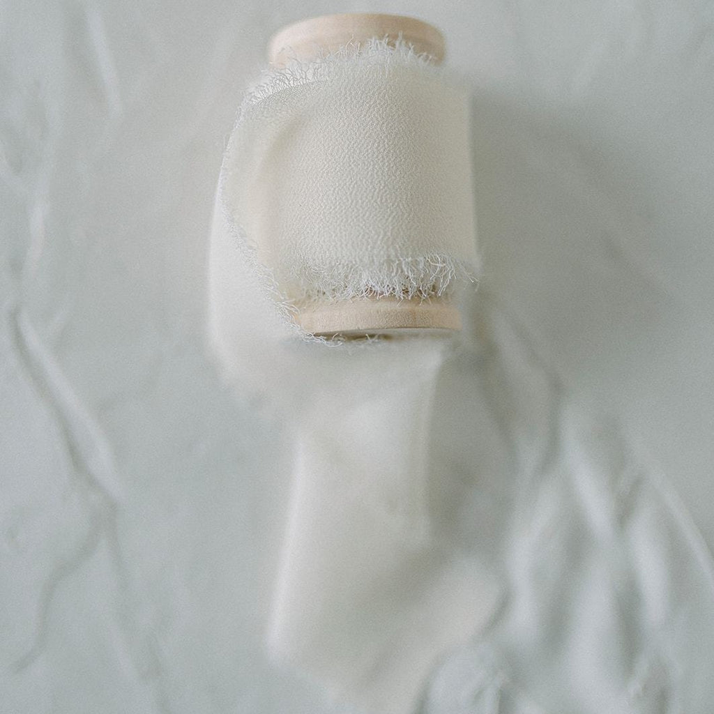 Ivory Silk Styling Ribbon