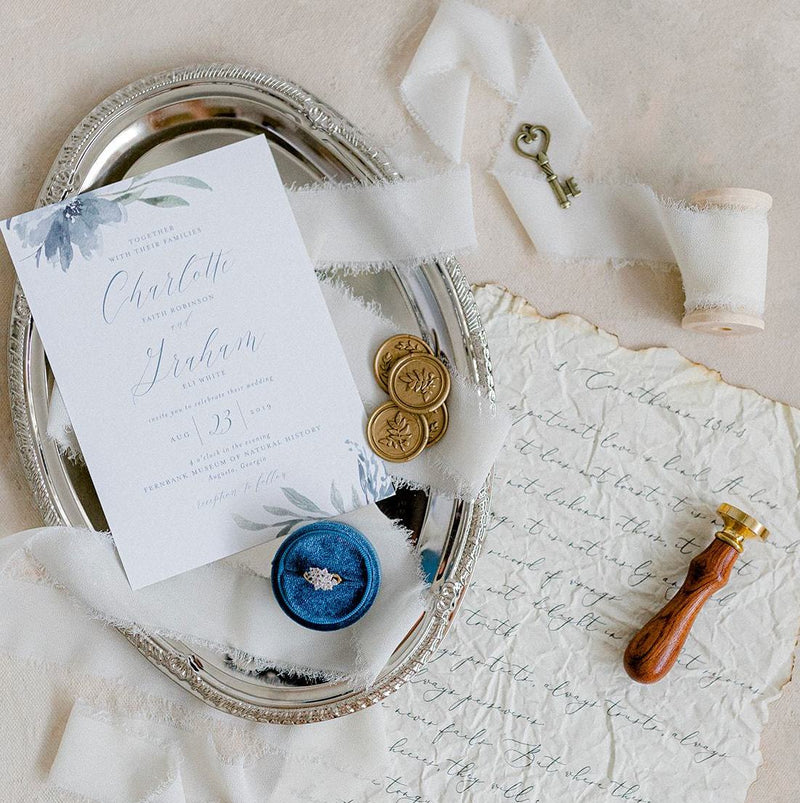 Silver Oval Tray with Styling Props