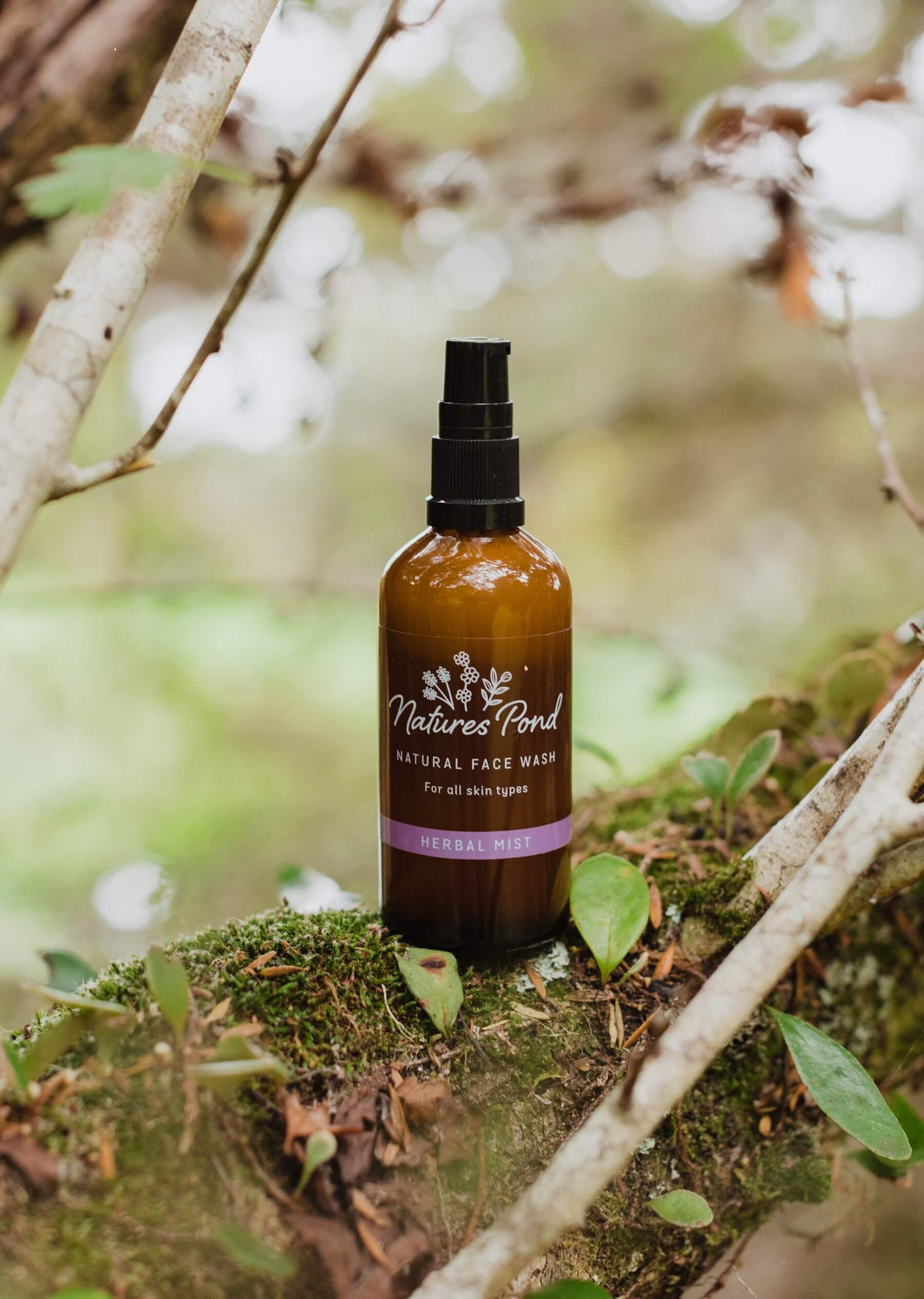 Face Wash Herbal Mist - Natures Pond