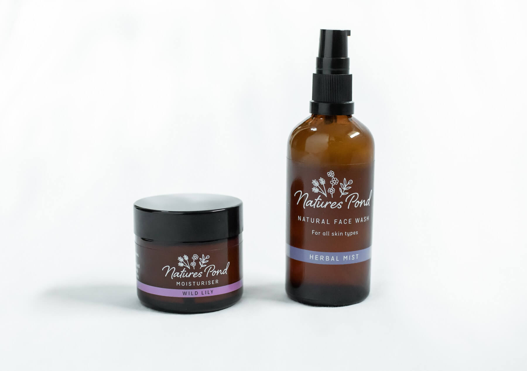 Face Wash & Moisturiser Bundle - Natures Pond