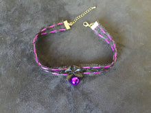 Load image into Gallery viewer, Gorgeous Black & Purple Collar