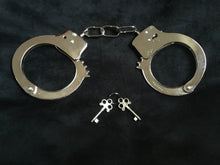 Load image into Gallery viewer, Fabulous Metal Handcuffs.