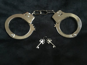 Fabulous Metal Handcuffs.