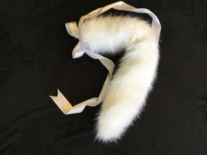 Luxury Pure White Kitten / Wolf Play Tail ,BDSM, Anime,