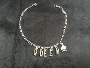 Sexy Queen Of Spades Anklet