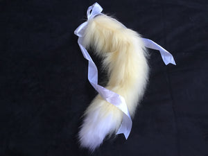 Luxury Lemon Sorbet Kitten / Wolf Play Tail ,BDSM
