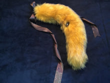 Load image into Gallery viewer, Gorgeous Gold Wolf Tail, BDSM