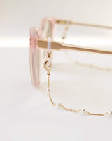 Dot Pearl Convertible Glasses/Mask Chain