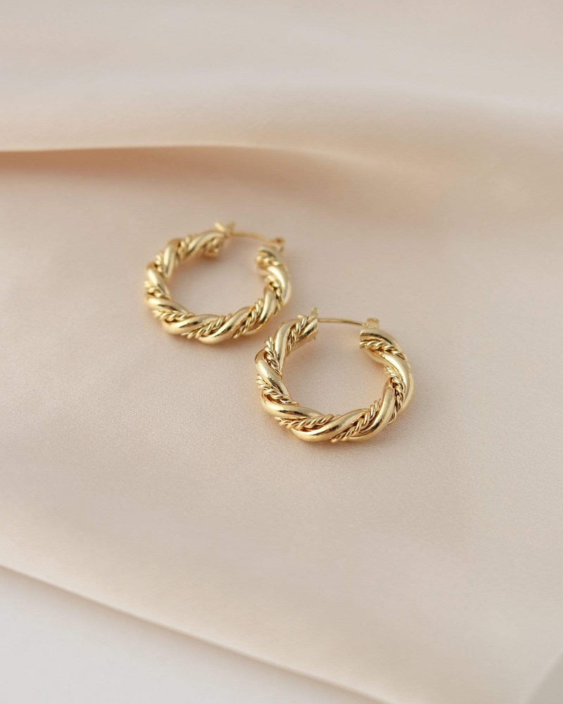 Jessie Hoop Earrings