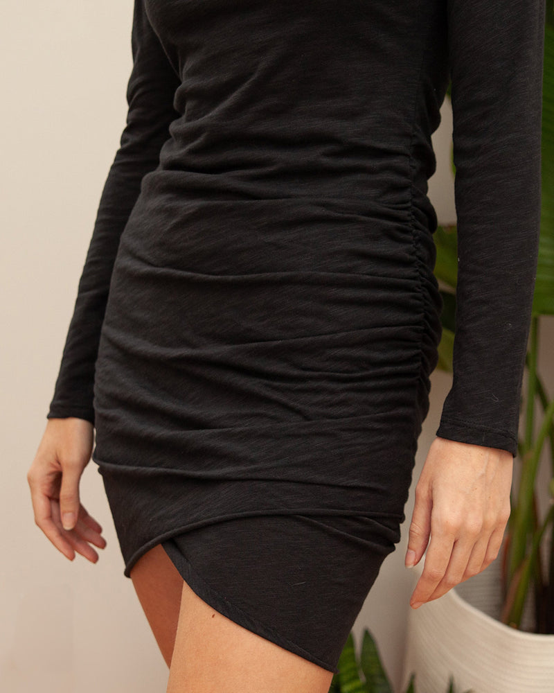 Long Sleeve On The Run T-Shirt Dress