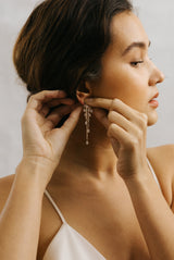 May B. Chic Cascade Drop Earrings