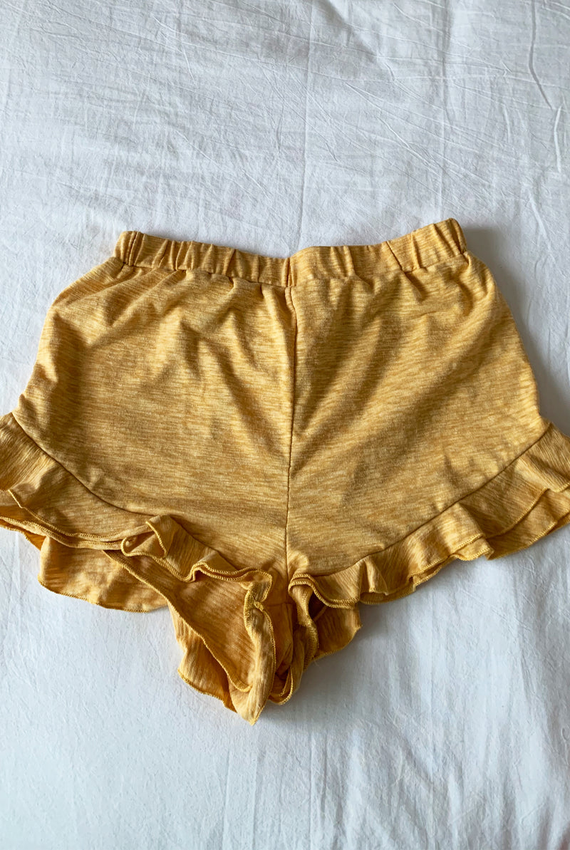Hello Sunshine Yellow Lounge Shorts