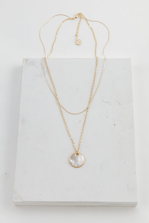 May B. Chic Mirage Double Necklace