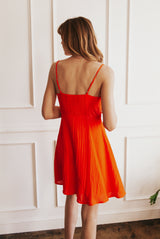 May B. Chic Vivid Summer Skater Dress