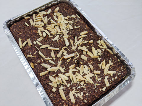 Almond Brownies, Gluten Free