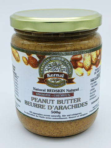 Kernal Canadian Peanut Butter (500g)