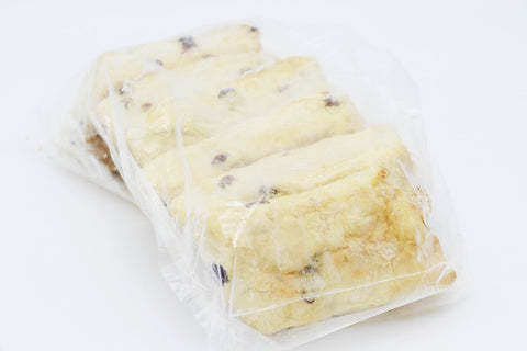 Raisin Scones, Frozen (6 pack)