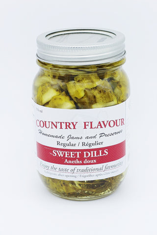 Country Flavour Sweet Dills (500g)