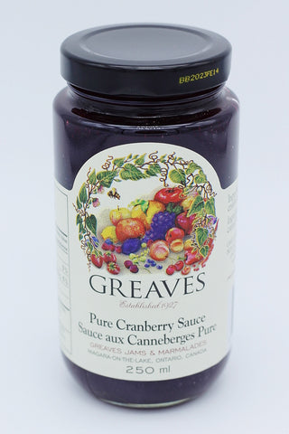 Greaves Cranberry Sauce (250ml)