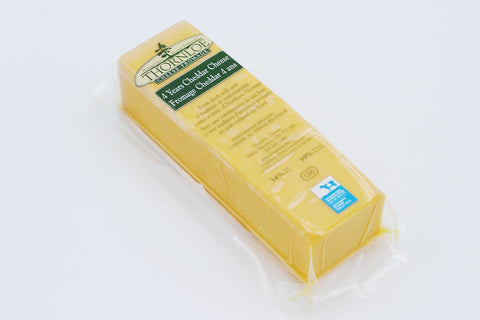 Thornloe 4 Year Old Cheddar Cheese (260g block)
